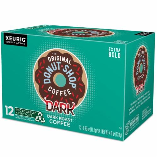 The Original Donut Shop Dark Roast Coffee K-Cup Pods Perspective: top