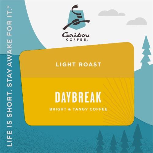 Caribou Coffee® Daybreak Light Roast Coffee K-Cup Pods Perspective: top