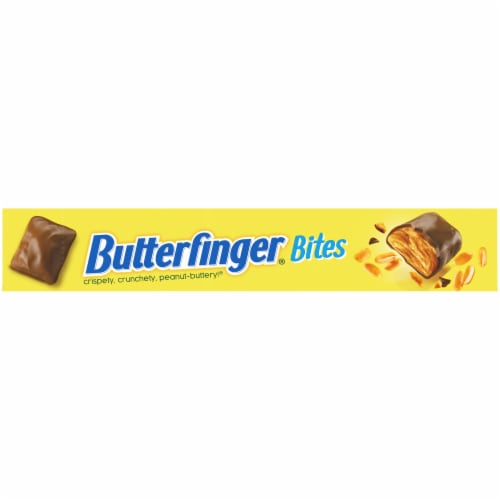Butterfinger Bites Candy Theater Box Perspective: top