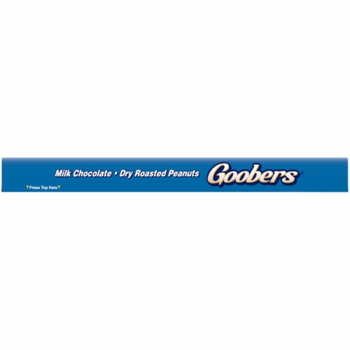 Goobers® Milk Chocolate Covered Fresh Roasted Peanut Candy Perspective: top