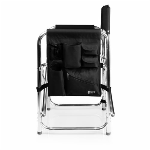 Sports Chair, Black Perspective: top