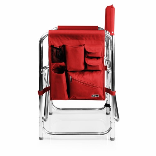 Sports Chair, Red Perspective: top
