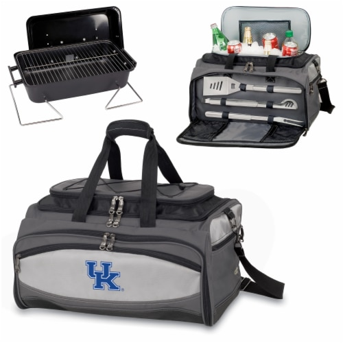 Kentucky Wildcats - Portable Charcoal Grill & Cooler Tote Perspective: top