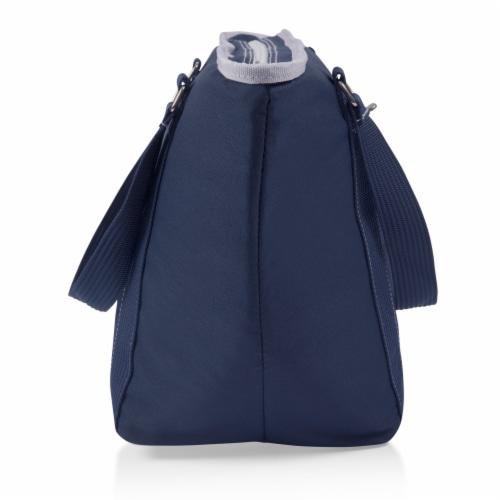 Topanga Cooler Tote Bag, Navy Blue Perspective: top