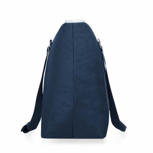 Tahoe XL Cooler Tote Bag, Navy Blue Perspective: top