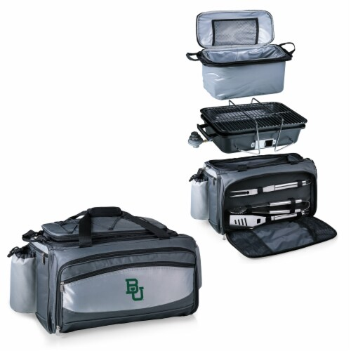 Baylor Bears - Vulcan Portable Propane Grill & Cooler Tote Perspective: top