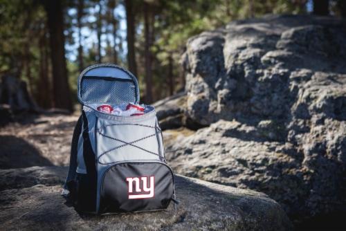 New York Giants  PTX Cooler Backpack - Black Perspective: top