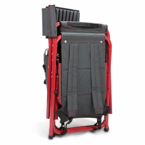 Arkansas Razorbacks - Fusion Backpack Chair with Cooler Perspective: top