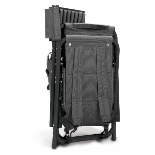 NC State Wolfpack - Fusion Backpack Chair with Cooler Perspective: top