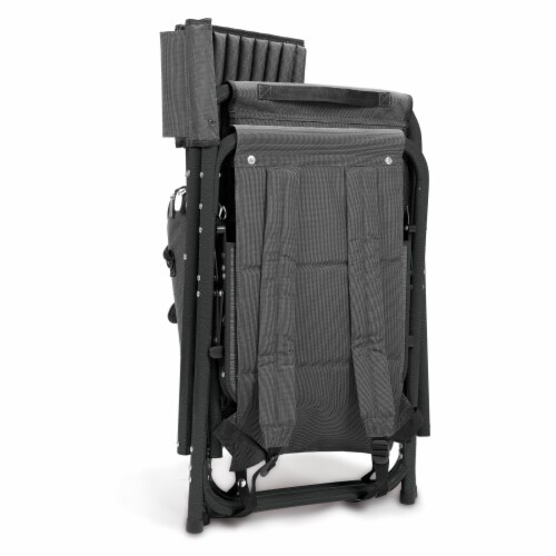 Purdue Boilermakers - Fusion Backpack Chair with Cooler Perspective: top