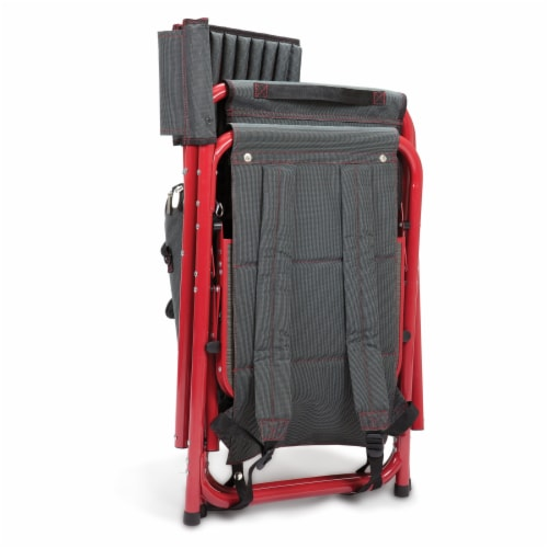 Oklahoma Sooners - Fusion Backpack Chair with Cooler Perspective: top