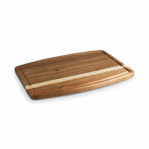 Ovale Acacia Cutting Board, Acacia Wood Perspective: top