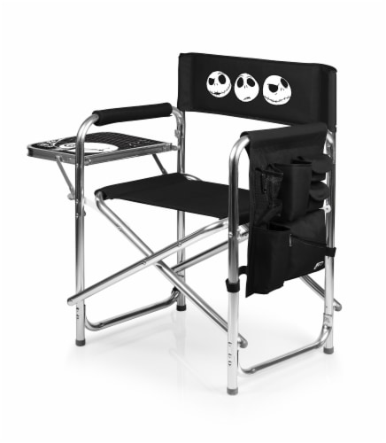 Disney Nightmare Before Christmas Jack - Sports Chair, Black Perspective: top