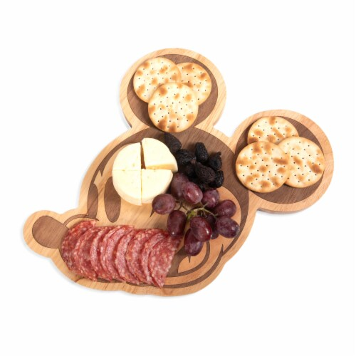 """Disney Mickey Mouse - 14"""" Cutting Board, Rubberwood Perspective: top"""