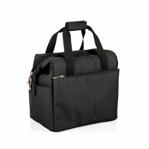 On The Go Lunch Cooler, Black Perspective: top