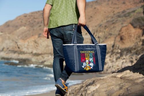 Disney Mickey Fab 5 - Topanga Cooler Tote Bag, Navy Blue Perspective: top