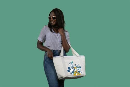 Disney Mickey Fab 5 - Topanga Cooler Tote Bag, Sand Perspective: top
