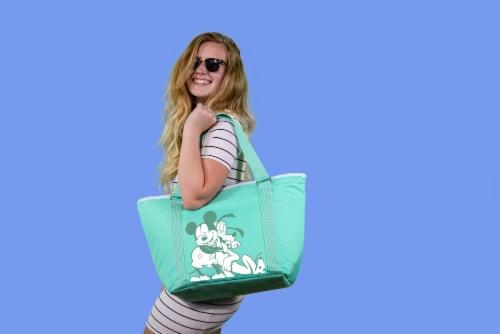 Disney Mickey & Pluto - Topanga Cooler Tote Bag, Teal Perspective: top