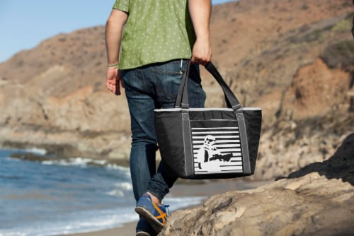 Star Wars Stormtrooper - Topanga Cooler Tote Bag, Black Perspective: top
