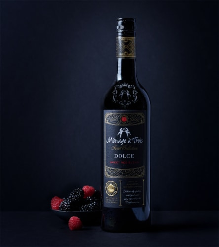 Menage a Trois Sweet Collection Dolce Sweet Red Wine Perspective: top