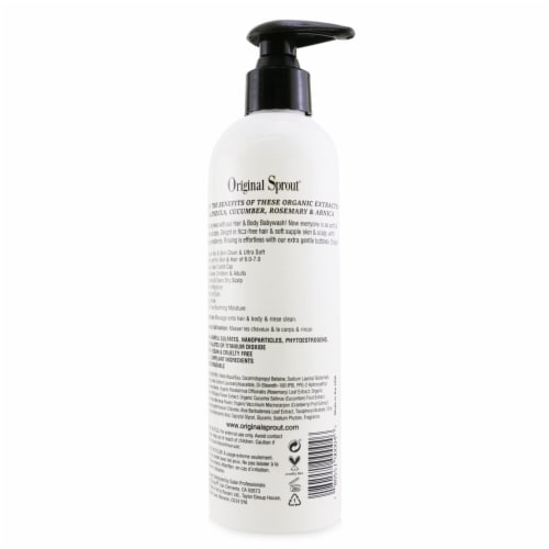 Original Sprout Hair and Body Baby Wash Hair and Body Wash 12 oz Perspective: top