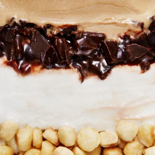 Talenti Gelato Layers Coffee Cookie Crumble Ice Cream Perspective: top