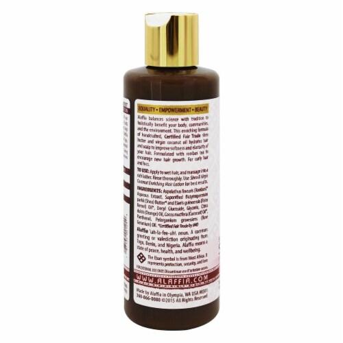 Alaffia Shea & Coconut Enriching Shampoo Orange Geranium Scent, 8 Ounces Perspective: top