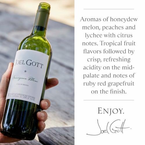 Joel Gott Sauvignon Blanc White Wine Perspective: top