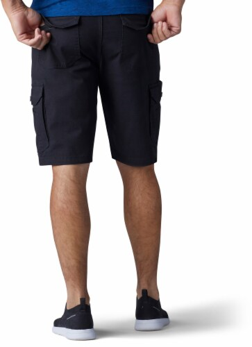 Lee Men's Extreme Motion Swope Shorts - Black Perspective: top