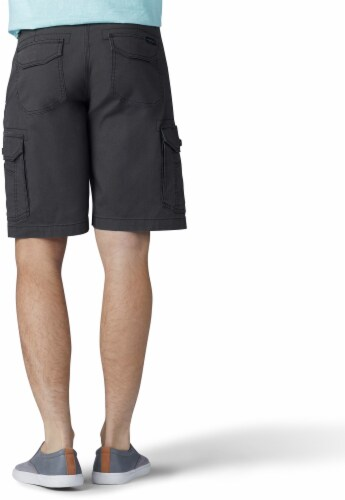 Lee Men's Extreme Motion Swope Cargo Shorts - Shadow Perspective: top