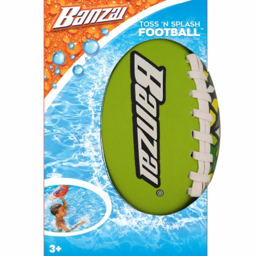 Banzai Toss 'n Splash Football - Assorted Perspective: top