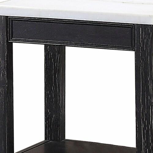 Saltoro Sherpi Polyresin Wall Decor with Sea Shell Design, Set of 2, White Perspective: top