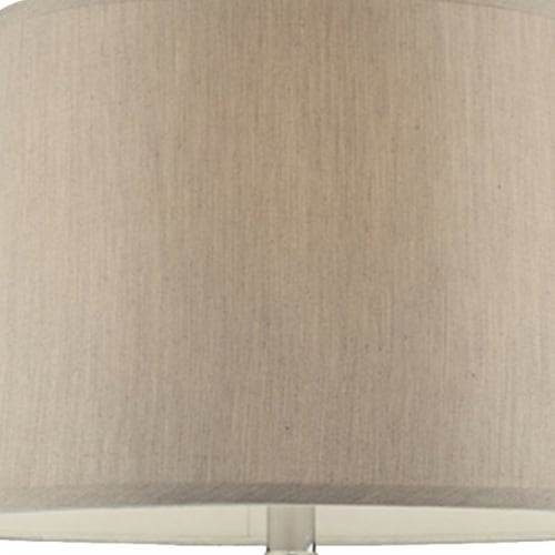 Onion Shaped Body Glass Table Lamp with Tapered Shade, Purple Perspective: top