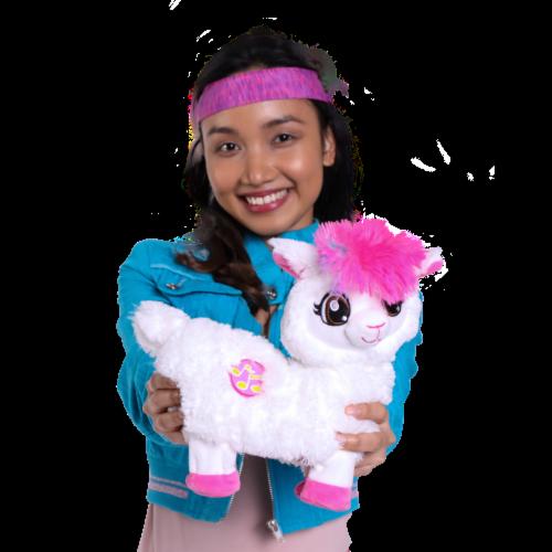 Zuru Pets Alive Dancing Boppi Llama Toy Perspective: top