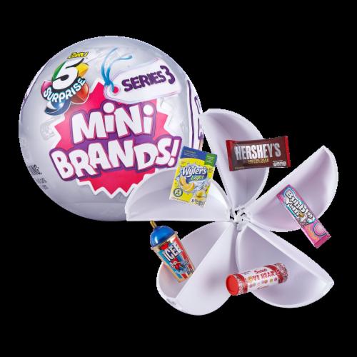Zuru™ 5 Surprise Mini Brands Series 3 Real Miniature Brands Collectible Toy Perspective: top