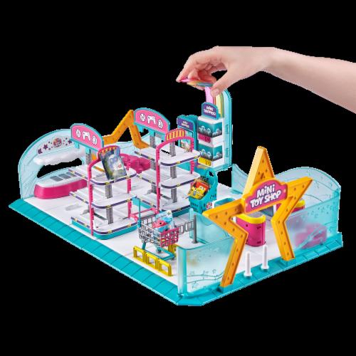 Zuru 5 Surprise Mini Brands Series 1 Toy Shop Playset Perspective: top