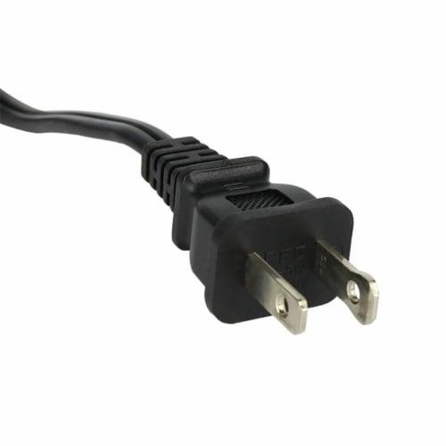 Intex 120V Quick Fill AC Electric Air Pump & Kidz Inflatable Air Bed Mattress Perspective: top