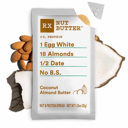 RXBAR Nut Butter Coconut Almond Butter Perspective: top