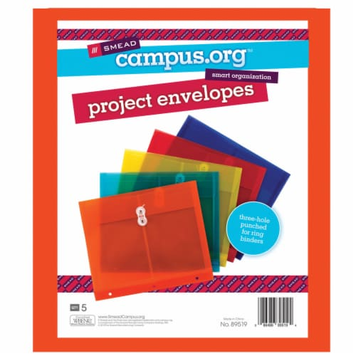 Smead Poly Project Envelopes Perspective: top