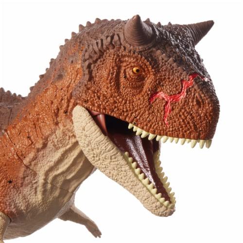 Mattel Jurassic World Colossal Carnotaurus Toro Dinosaur Perspective: top