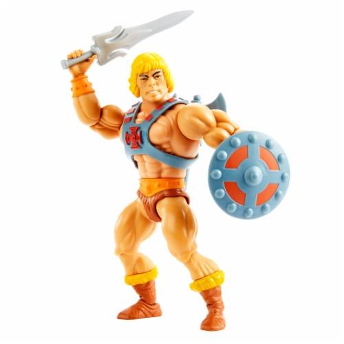 Mattel Masters of the Universe Origins He-Man Action Figure Perspective: top