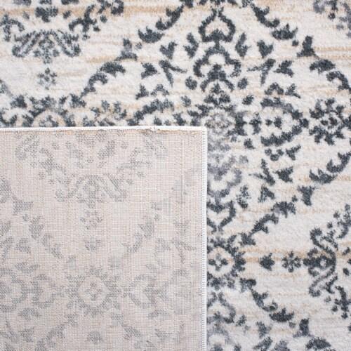 Safavieh Martha Stewart Isabella Square Rug - Cream/Gray Perspective: top