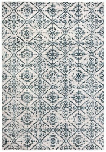 Safavieh Martha Stewart Isabella Accent Rug - Navy/Ivory Perspective: top