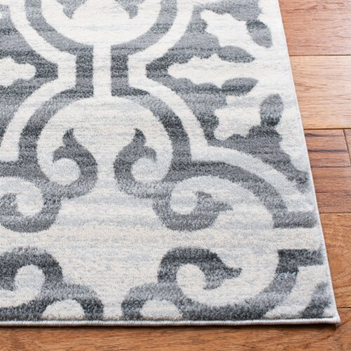 Safavieh Martha Stewart Collection Isabella Accent Rug - Gray/Ivory Perspective: top