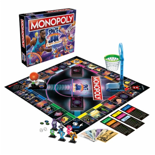 Hasbro Gaming Monopoly: Space Jam: A New Legacy Edition Perspective: top