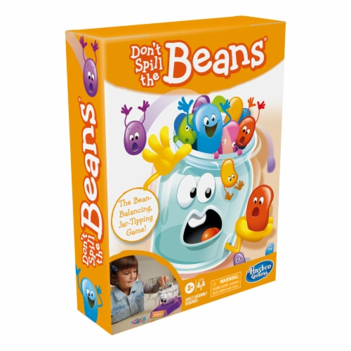 Hasbro Gaming Don't Spill the Beans Game Perspective: top