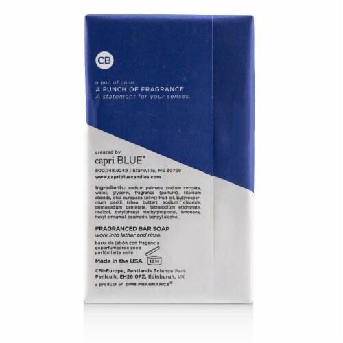 Capri Blue Signature Bar Soap  Blue Jean 184g/6.5oz Perspective: top