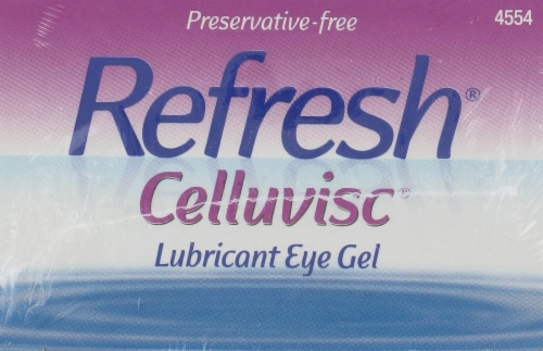 Refresh Celluvisc Lubricant Eye Drops Perspective: top