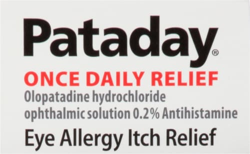 Pataday Once Daily Allergy Relief Eye Drops Twin Pack Perspective: top