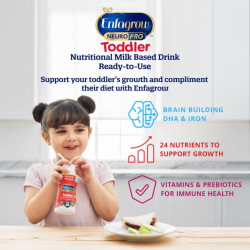 Enfamil Enfagrow NeuroPro Toddler Nutritional Milk Drink Perspective: top